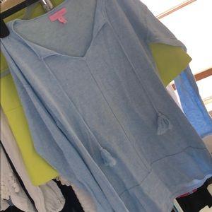 Sky blue sweater